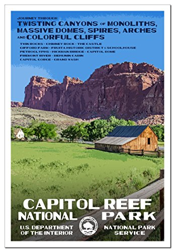 10 best capital reef national park poster