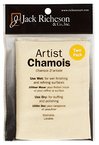 (Jack Richeson Artist Chamois 2 Pack 5 x)