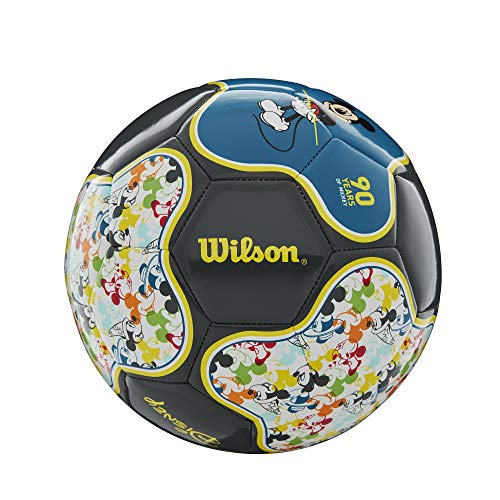 Wilson x Disney Mickey Mouse Size 3 Soccer Ball: 90th Anniversary