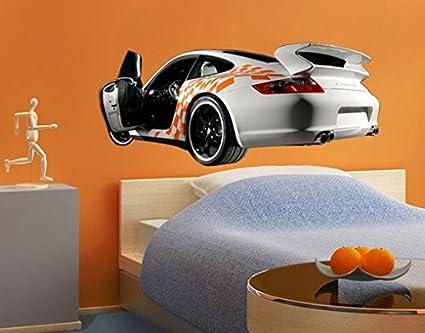 Adhesivo de No, SB62 Porsche Carrera 911 No, 12 de coche de carreras de