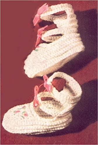 dd103dc705d1d Buy Double Strap Baby Booties Shoes Slippers Crochet Pattern Book ...