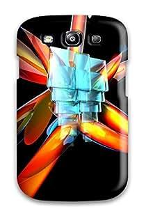Galaxy S3 3d Print High Quality Tpu Gel Frame Case Cover