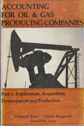 Accounting for Oil and Gas Producing Companies, Part 1