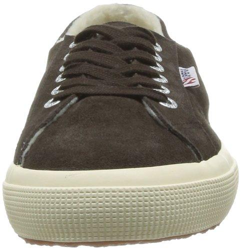 SUPERGA 2750 Suebinu - Zapatillas de Deporte de ante Unisex marrón - Marron (Full Dk Chocolate)