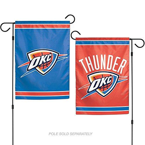 "NBA Oklahoma City Thunder Garden Flag, 11""x15"", Team Color"