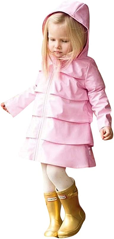 KaiCran Kids Coat Baby Boy Girl Warm Coat Tops Outfits Clothes Kids Clothes