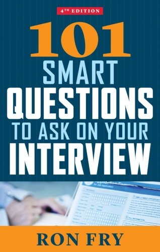 101 Smart Questions to Ask on Your Interview, 4th Edition (Job Interview Tools compare prices)