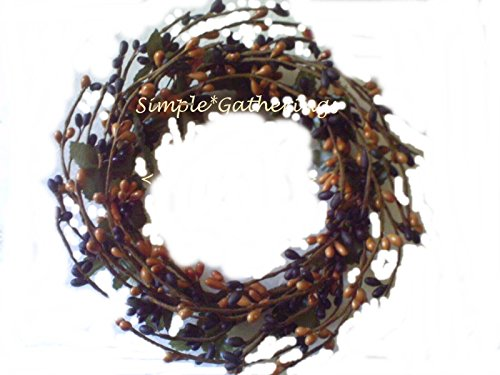 poppip Ring Wreath Berry Candle 4