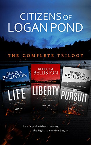 When the financial collapse of America wipes out life as Carrie knows it, she finds the will to survive…3-in-1 boxed set!  Citizens Of Logan Pond: The Complete Dystopian Trilogy by Rebecca Belliston