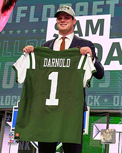 Amazon Com Sam Darnold New York Jets Draft Photo Size 8