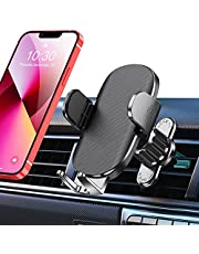 TEUMI Car Phone Holder, [Upgraded Vent Clip] Hands Free Cell Phone Holder for Car, Universal Air Vent Car Phone Mount Compatible with iPhone 13 Pro Max/12 Pro/11/XS/8, Samsung Galaxy S20/Note 10