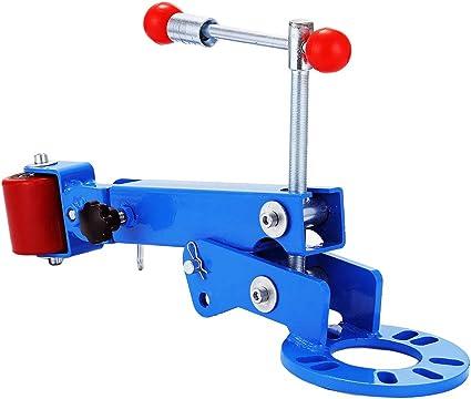 Heavy Duty Fender Roller Tool Extending Auto Body Wheel Arch Roller Blue Red