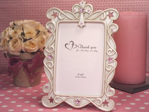Blessed Events Cross Design Photo Frame C1767 Quantity of - Frames Cross Design