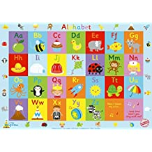 "Little Wigwam Alphabet Chart - ""No Tear Guarantee"" Educational Poster (60 x 42cm / 24 x 17 inches)"