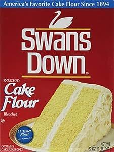 Swans Down, Cake Flour, 32oz Box (Pack of 2)