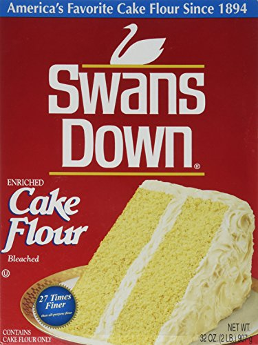 Swans Down, Cake Flour, 32oz Box (Pack of 2) by Swans