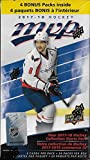 #4: 2017 2018 Upper Deck MVP NHL Hockey Series Unopened Blaster Box of 24 Packs with Chance for #1 Draft Picks Cards and Blaster EXCLUSIVE Gold Scripts