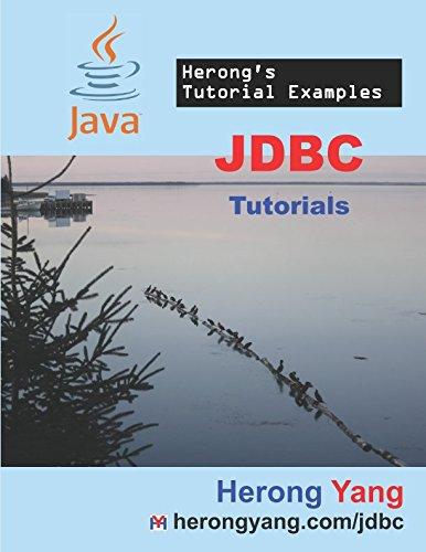 JDBC Tutorials - Herong's Tutorial Examples