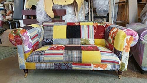 sofa chester multicolor/Chesterfield Multicoloured Patchwork ...