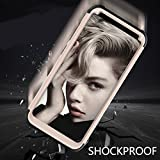 Galaxy S8 Case, HOHAM Hybrid Completely Scratch-proof and Drop Resistance Duroplasts+Soft Silicone Protective Case Cover for Samsung Galaxy S8
