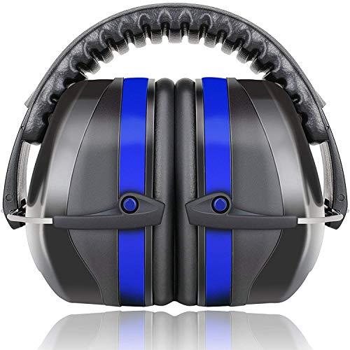 Fnova Ear Defenders, 34dB NNR Comfortable Safety Ear Muffs for Shooting,...