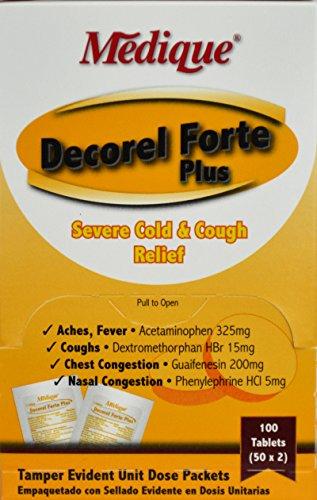 Medique 76963 Decorel Forte Plus (50 (Plus Acetaminophen)