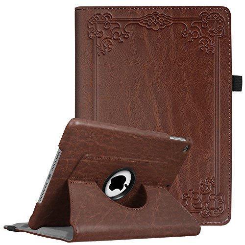 Fintie iPad 9.7 inch 2018 2017 / iPad Air Case - 360 Degree Rotating Stand Protective Cover with Auto Sleep Wake for Apple iPad 9.7