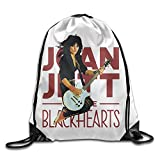 Sokie Joan Jett Gym Drawstring Backpack/Travel Bag