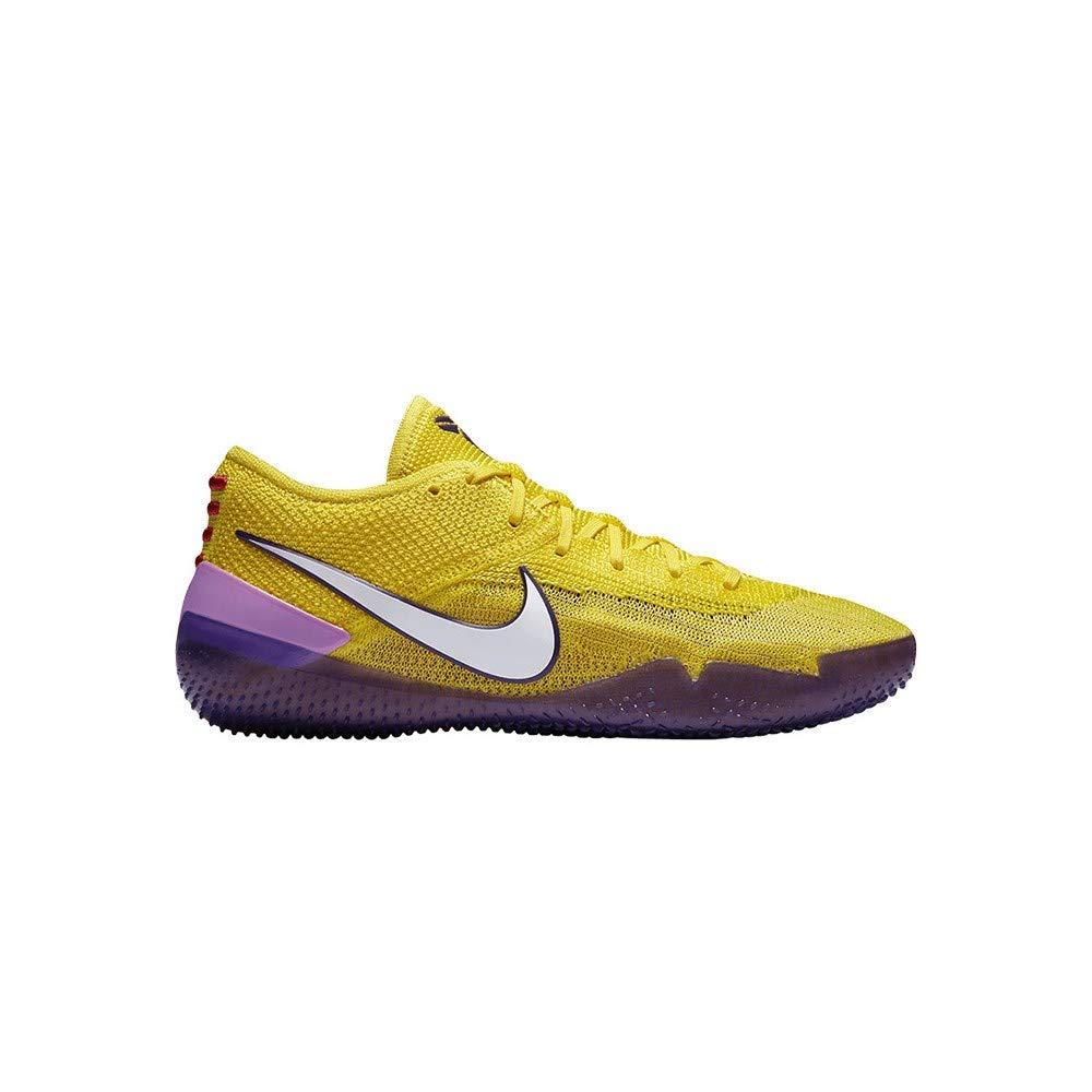 on sale 29776 37e6b Nike Kobe AD NXT 360 Mens Basketball Trainers AQ1087 Sneakers Shoes (UK 11  US 12 EU 46, Yellow Strike White 700)