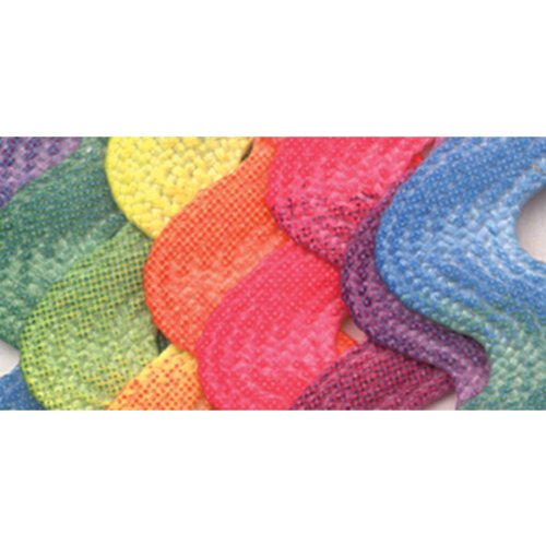 - Wrights 117-404-001 Polyester Printed Rick Rack Trim, Rainbow, Jumbo, 2.5-Yard