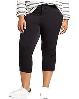 910b23c1322 Ava   Viv Women s Plus Size Pull On Ponte Pants - Gray Herringbone ...