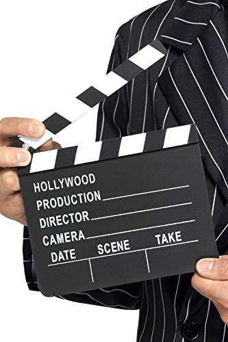 Hollywood Clapper Board Costume Accessory (Hollywood Toys And Costumes Store)
