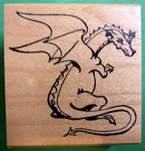Dragon Rubber Stamp -