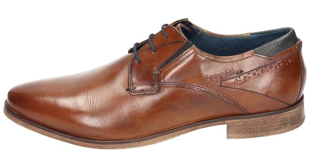 Bugatti Herren 311251011500 Derby Braun Braun Braun 482299