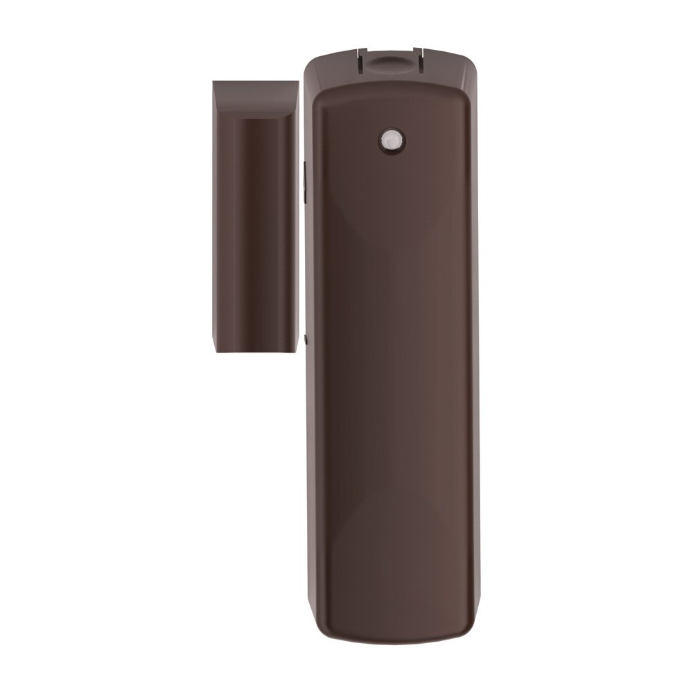 Z-Wave Door and Window Sensor with Nexia RS 100 Both White and Brown Cases Included