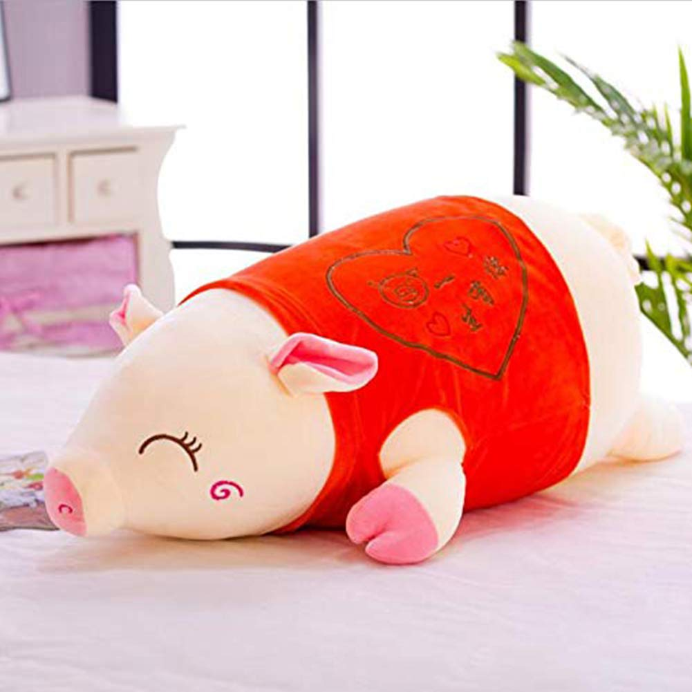 Red 60cm X&MM Super Cute Plush Toy Girl Sleeping Pillow Cute Pig Plush Doll Pig Plush Girl Birthday Gift,bluee,100cm