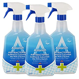 Astonish Surface Cleaner for Home and Kitchen Contains No Bleach, Vegan, 25.3 Ounce (Pack of 3)