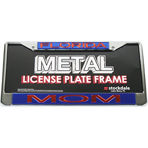 Stockdale Florida Gators Metal mom Inlaid Acrylic License Plate Frame