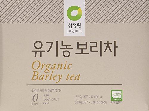 100% Organic Barley Tea, 10g X 30 Unbleached Teabags, Sugar Unoccupied, Caffeine Free