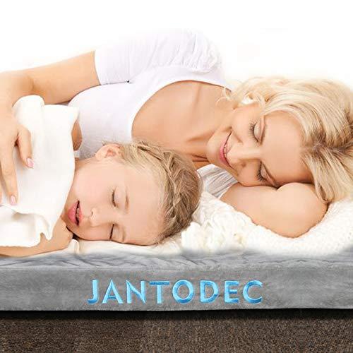 Amazon.com: Jantodec - Colchón de espuma para cama de ...