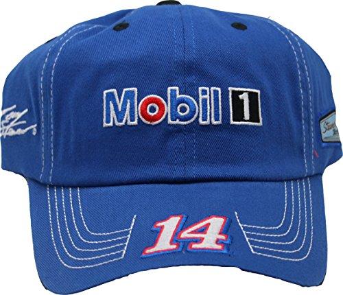 NASCAR Tony Stewart #14 Mobil 1 Qualifier Series Adult Men's Cap Hat - Qualifier Series
