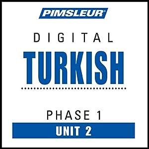 Turkish Phase 1, Unit 02 Audiobook