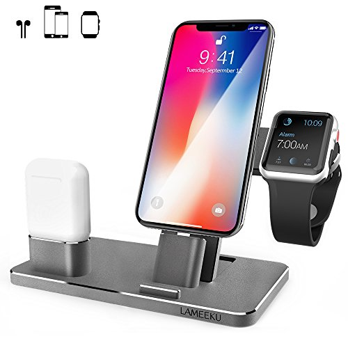 LAMEEKU Aluminum Charging AirPods Charger