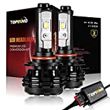 03 expedition headlight assembly - TOPINNO LED Headlight Bulbs Conversion Kit, Extremely Bright CREE XHP50 10000LM, 9005(HB3) - 6000K Xenon White Headlight Assembly