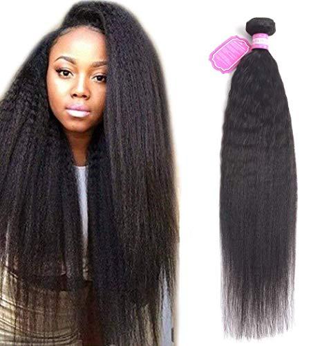 - Odir 8A Brazilian Kinky Straight Human Hair Bundles 1 Bundle 20