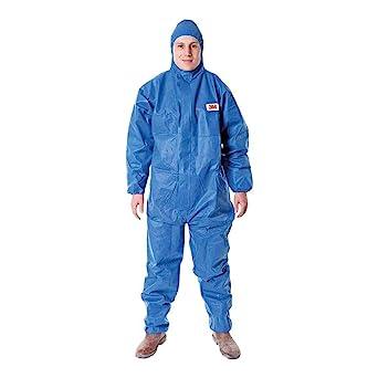 3M P4515AXX - 4515 Prenda protección, azul, tipo 5/6, talla XXL