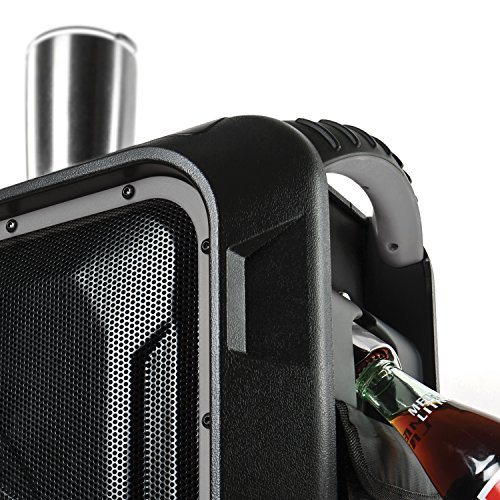 ECOXGEAR GDI-EXBLD810 Waterproof Portable Bluetooth/AM/FM Wireless 100W Speaker & PA system by ECOXGEAR (Image #4)