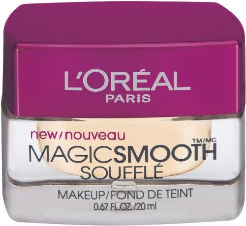 L'Oreal Paris Studio Secrets Professional Magic Smooth Souffle Makeup, Light Ivory, 0.67-Fluid Ounce