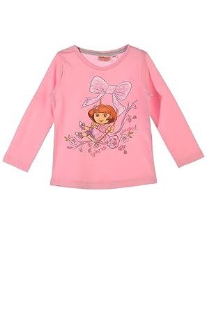 7eaabb8e0493f Dora l exploratrice T-Shirt Fille Rose (8 Ans)  Amazon.fr  Vêtements ...