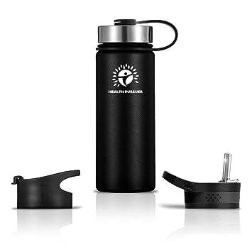Amazon.com: Botella de agua de acero inoxidable/termo:18 ...